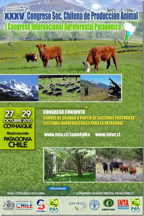 XXXV Congreso de la Sociedad Chilena de Producción Animal (SOCHIPA A.G.) I Congreso Agroforestal Patagónico.