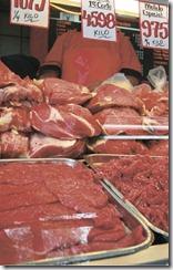 Precio de la carne sube 10,4% entre enero y junio