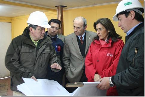 Ministro de Agricultura recorrió construcción de planta faenadora de ovinos